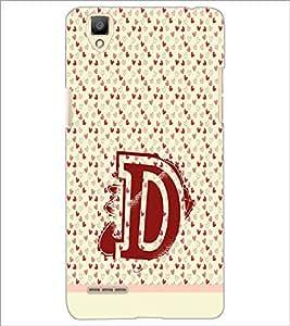PrintDhaba GRANDbet D D-1504 Back Case Cover for OPPO F1 (Multi-Coloured)