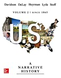 img - for US: A Narrative History, Volume 2: Since 1865 book / textbook / text book