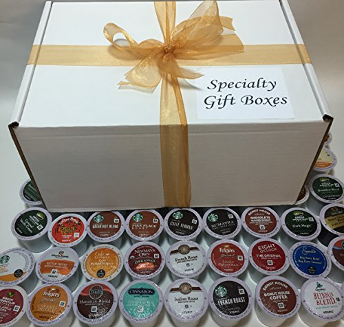 72 K Cup Variety Sampler Pack Box - 72 Different Fresh Keurig K-Cups - Bestsellers & Top Rated K Cups - For Entertaining / Home / College / Work / Office / Great Gift Idea! (Tullys Italian Roast Decaf K Cups compare prices)