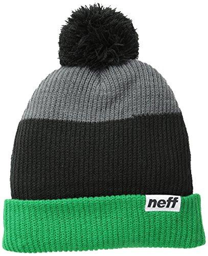 Neff, Cappellino Snappy, Multicolore (Vert/noir/gris), Taglia unica