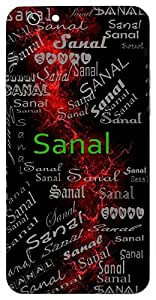 Sanal (Vigorous) Name & Sign Printed All over customize & Personalized!! Protective back cover for your Smart Phone : Samsung Galaxy S4mini / i9190