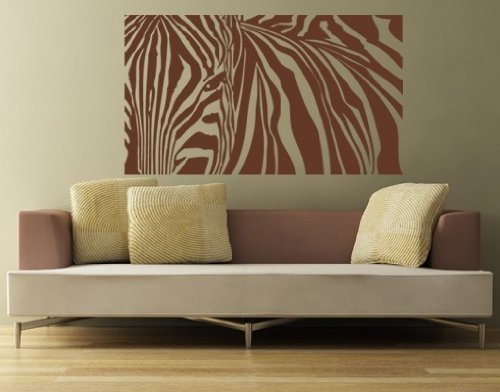 Style & Apply - Zebra Stripes - Wall Decal, Sticker, Mural Vinyl Art Home Decor