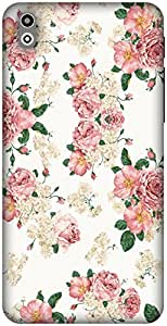 The Racoon Grip Blossom hard plastic printed back case / cover for HTC Desire 816g