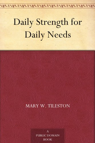 Daily Strength for Daily Needs (Free Joyce Meyer Kindle Books compare prices)