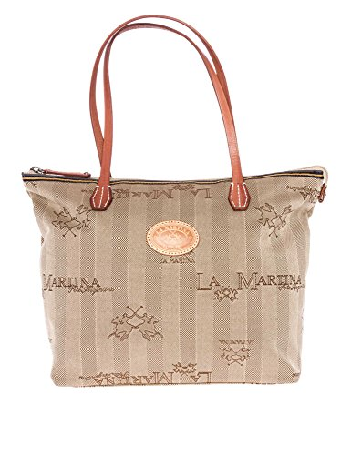 LA MARTINA Donne Shopping bag beige one size