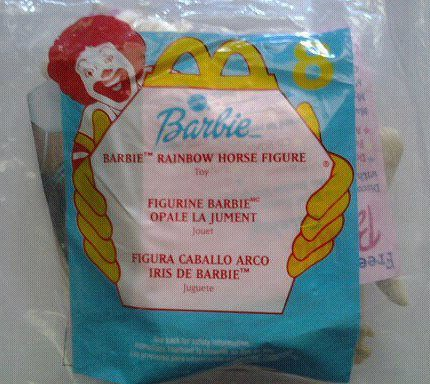 Mcdonalds Happy Meal Rainbow Horse Barbie (8) 2000
