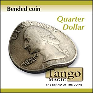 Bended Coin Quarter Dollar (D0097) by Tango - Trick