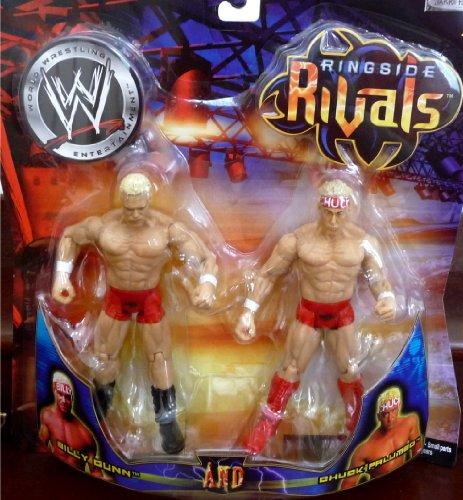 Buy Low Price Jakks Pacific Billy Gunn and Chuck Palumbo WWE Ringside Rivals Toy Figures (B004WKZJPU)