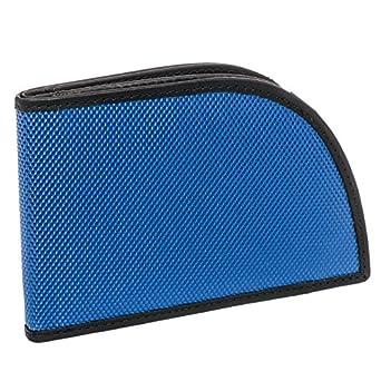 Rogue Men's Nylon Ballistic RFID Protection Billfold Wallet (Blue)
