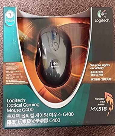 Logitech G400 3600 dpi Optical USB PC Windows Gaming Mouse