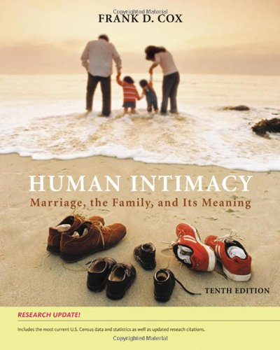 Human Intimacy: Marriage, the Family, and Its Meaning, Research Update