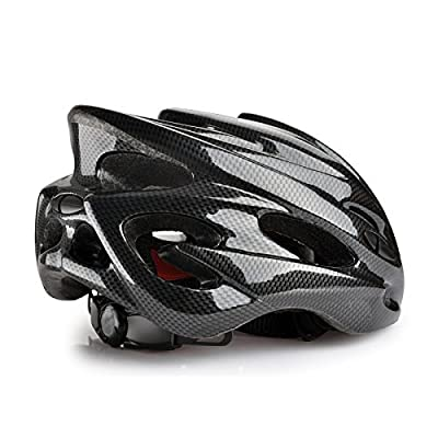 Bike Bicycle MTB Road Cycling Adult Mens Helmet Unisex in black,Size 52-63cm from Powerbank2013