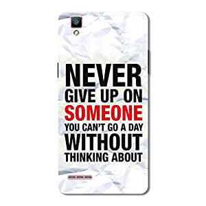 OVERSHADOW DESIGNER PRINTED BACK CASE COVER FOR OPPO F1