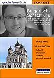 echange, troc Udo Gollub - Sprachenlernen24.de Bulgarisch-Express-Sprachkurs. CD-ROM für Windows/Linux/Mac OS X + MP3-Audio-CD für Computer /MP3-Player