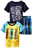 Z Boyz Wear by Nannette 2-7 3 Piece Pullovers And Short