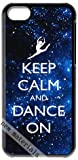 Move together,enjoy a happy summer!Fashion Case or Cover design KEEP CALM DANCE ON for iphone 5c case