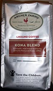 Archer Farms Ground Coffee Kona Blend 12oz