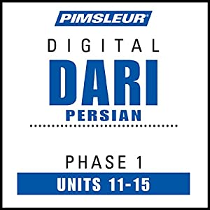 Dari Persian Phase 1, Unit 11-15 Audiobook
