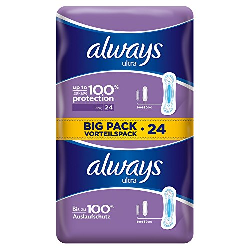 always-ultra-binden-long-vorteilspack-4er-pack-4-x-24-stueck
