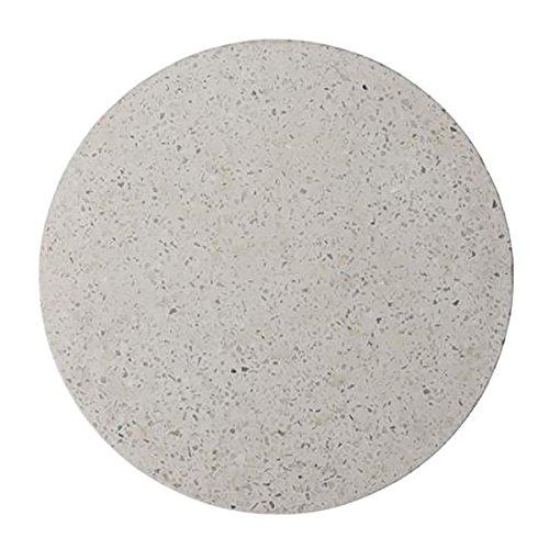 Bloomingville Tablett, Terrazzo, weiß