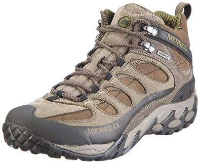 Merrell Refuge Core Mid Waterproof Walking Boots - 7 - Brown