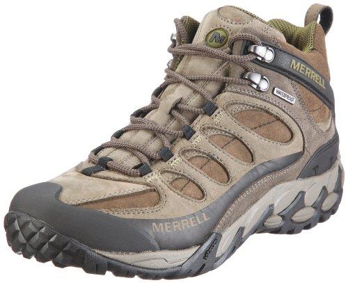 Merrell Refuge Core Mid Waterproof Walking Boots - 8.5 - Brown