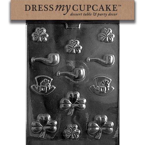 Dress My Cupcake DMCP004SET Chocolate Candy Mold,