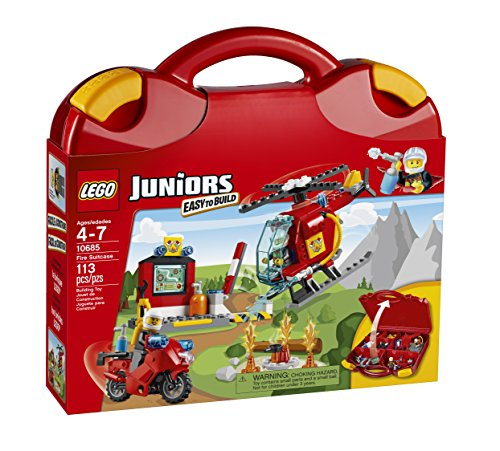 LEGO Juniors Fire Suitcase (Lego Hose compare prices)