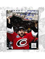 Signed Mark Recchi Photo - 2006 Cup 8x10 - Autographed NHL Photos coupon codes 2015