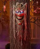 Talking Spooky Tree Face Yard Lawn Halloween Outdoor Home Decor