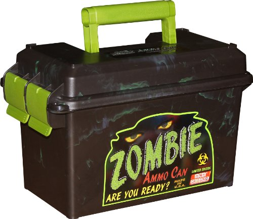 Why Choose MTM Limited Edition Zombie Ammo Can (Black and Green)