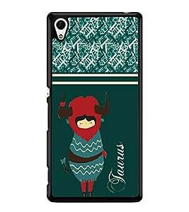 Printvisa 2D Printed Sunsign Taurus Designer back case cover for Sony Xperia Z4 - D4407