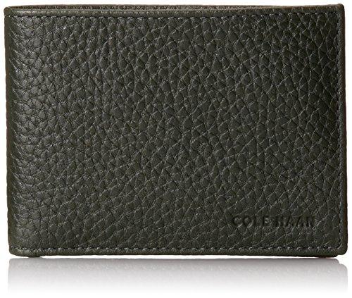 Cole Haan Men's Veg Slimfold Wallets, Forest, One Size (Cole Haan Slimfold Wallet compare prices)