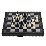 Jili Online Pocket Chess Game Magnetic Plastic Chessboard Set Classic Chess Outdoor Game