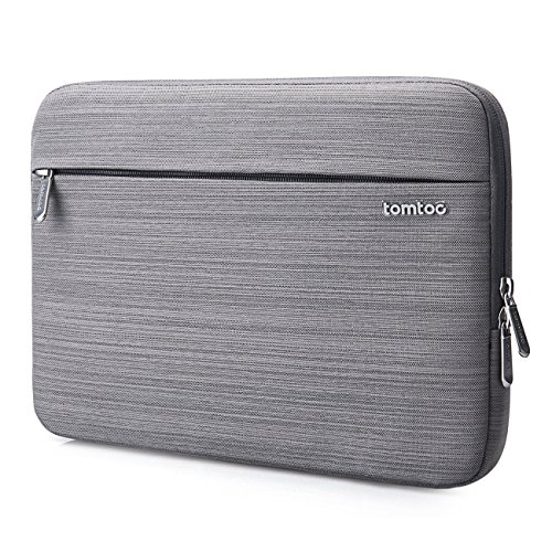 Tomtoc Microsoft Surface Pro 4/3/2/1 Sleeve Business Laptop Bag for Most 11.6 Inch Ultrabook Netbook Tablet, Spill-Resistant, Gray (Macbook Pro 4 1 compare prices)
