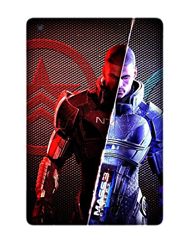 Ipad Mini/Mini 2/Mini 3 Case, [Drop Protection] Scratch Resistant Perfect-Fit Shock Absorbing Non-Slip Game Mass Effect Hard Armor Case