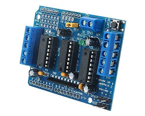 niceeshop(TM) L293D Motor Drive Shield Expansion Board For Arduino Duemilanove Mega UNO R3 AVR ATMEL