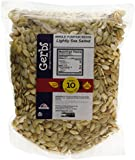 Lightly Sea Salted Roasted Pumpkin Seeds In Shell by Gerbs - 2 LB Deal - Top 10 Food Allergen Free & NON GMO - Vegan & Kosher - Seed Country of Origin USA - Premium Domestic Whole Pepitas ...