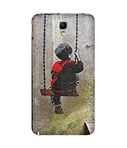 Swinging Samsung Galaxy Note 3 Neo Case