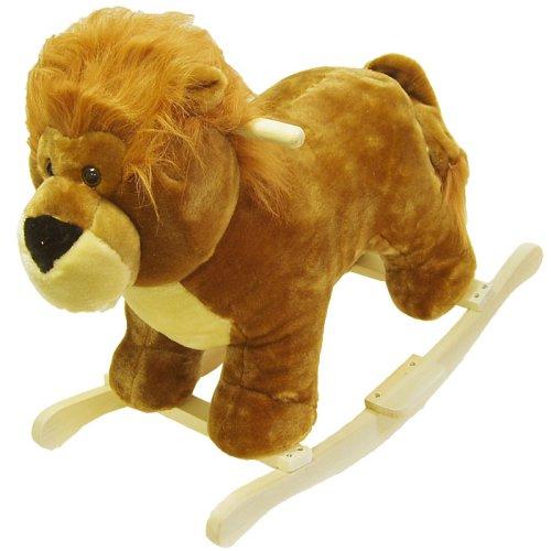 Trademark Lion Plush Rocking Animal - Buy Trademark Lion Plush Rocking Animal - Purchase Trademark Lion Plush Rocking Animal (TradeMark, Toys & Games,Categories)
