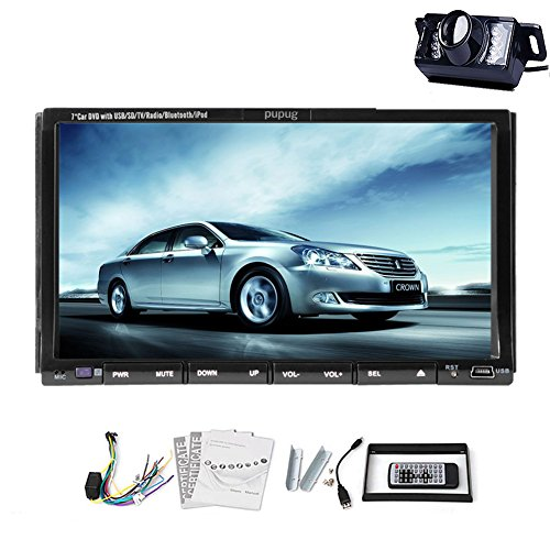 pure android system car stereo with free camera included 7 inch 2 din capactive touch screen in. Black Bedroom Furniture Sets. Home Design Ideas