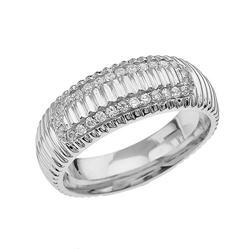 10ct-white-gold-cz-watch-band-design-mens-comfort-fit-wedding-ring