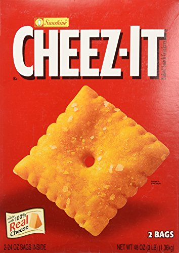 Sunshine Cheez-It Crackers - 3 lb. box
