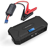 RAVPower Jump Starter 550A Peak Portable Charger Car Battery with LCD Display & LED Flashlight + $5 Gift Card