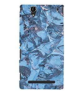 EPICCASE Ice cubes Mobile Back Case Cover For Sony Xperia T2 (Designer Case)