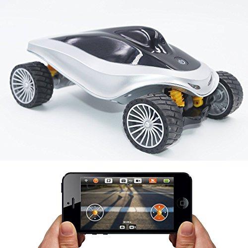 Braha iCon Motor- Smartphone Control Car with Camera (Remote Control Camera Car compare prices)