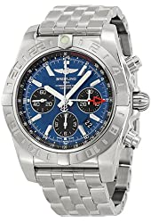 Breitling Men's AB042011-C852 Analog Display Swiss Automatic Silver Watch
