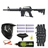 BT Omega Paintball Marker Gun Mega Set - Black