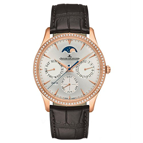 jaeger-lecoultre-womens-master-39mm-brown-leather-band-rose-gold-plated-case-automatic-watch-q130250