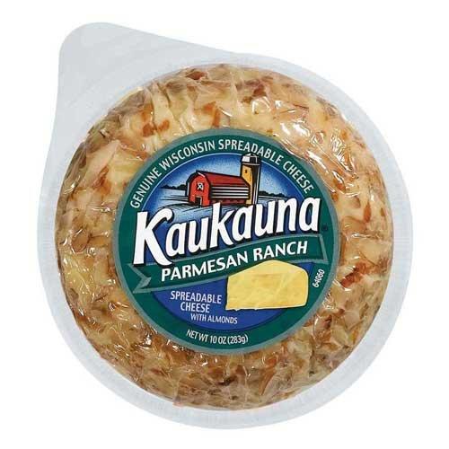 KAUKAUNA Ball Cheese, Parmesan Ranch, 10 Ounce (Pack of 12) (Kaukauna Cheese Spread compare prices)